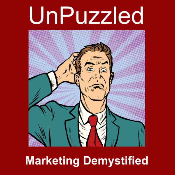 Unpuzzled Marketing Podcast Graphics
